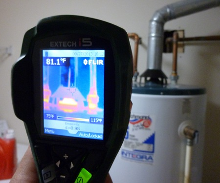 Thermal Image Water Heater